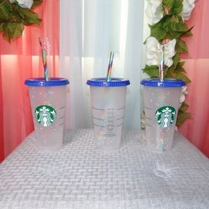 Starbucks Color Changing Confetti Cups
